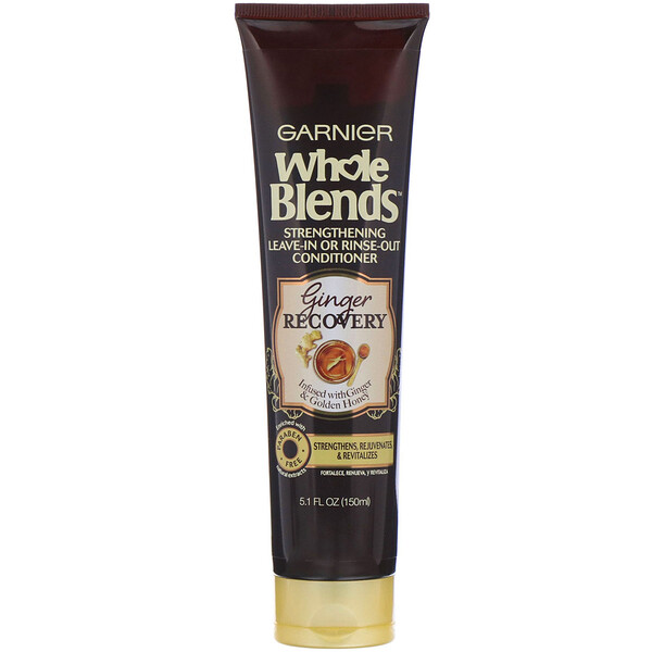 Whole Blends,  Strengthening Leave-In or Rinse-Out Conditioner, Ginger Recovery, 5.1 fl (150 ml)