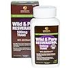 Genceutic Naturals, Resvératrol pur et sauvage, 500 mg, 60 gélules végétales