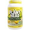 Genceutic Naturals, Plant Head Protein, Banana, 1.8 lb (810 g)
