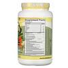 Genceutic Naturals, PlantHead, Comida de verdad, Vainilla, 1050g (2,3lb)