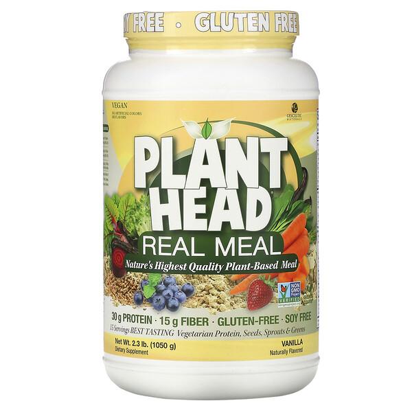 Plant Head, 리얼 밀, 바닐라, 1,050g(2.3lb)