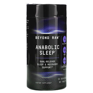 GNC, Beyond Raw, Anabolic Sleep, 60 Tablets