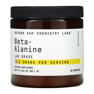GNC, Beyond Raw, Chemistry Labs, Beta-Alanine, 3.46 oz (98.1 g)