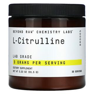 GNC, Beyond Raw, Chemistry Labs, L-Citrulline, 3.23 oz (91.5 g)
