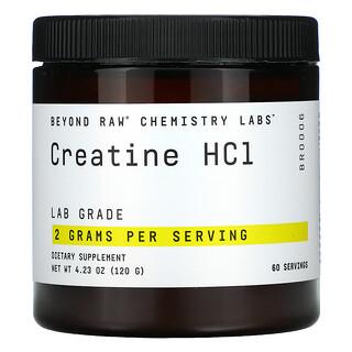 GNC, Beyond Raw, Chemistry Labs, Creatine HCI, 4.23 oz (120 g)