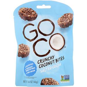 ГоуКо, Crunchy Coconut Bites, Salted Cocoa, 1.4 oz (40 g) отзывы