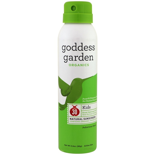 Goddess Garden, Organics, Kids, Everyday Natural Sunscreen, SPF 30, 3.4 oz (Discontinued Item)