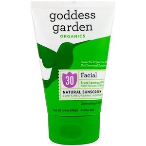 Годдэс Гарден, Organics, Facial, Natural Sunscreen, SPF 30, 3.4 oz (96 g) отзывы