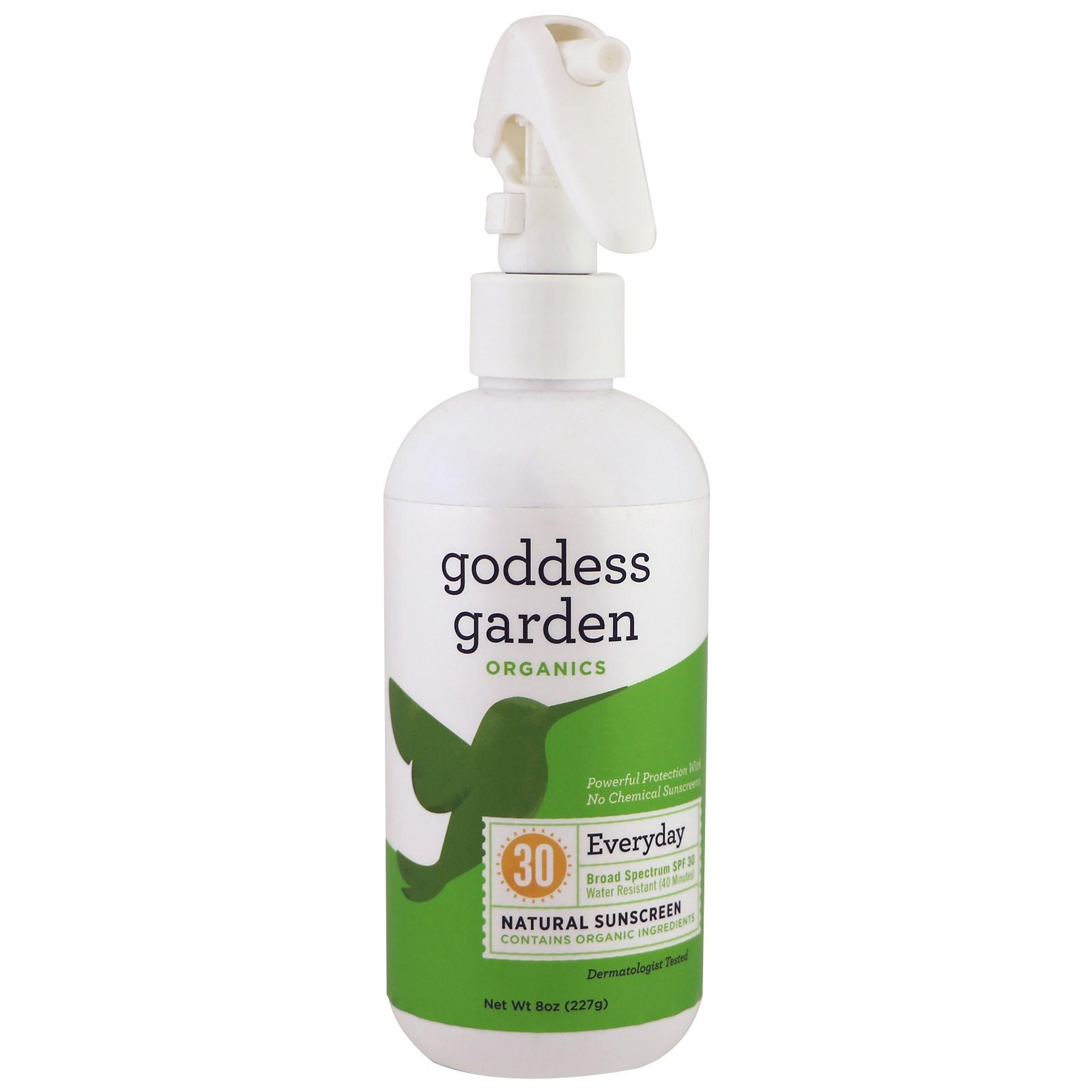 Goddess Garden, Organics, натуральное солнцезащитное средство на каждый день, SPF 30, 8 унций (236 мл)