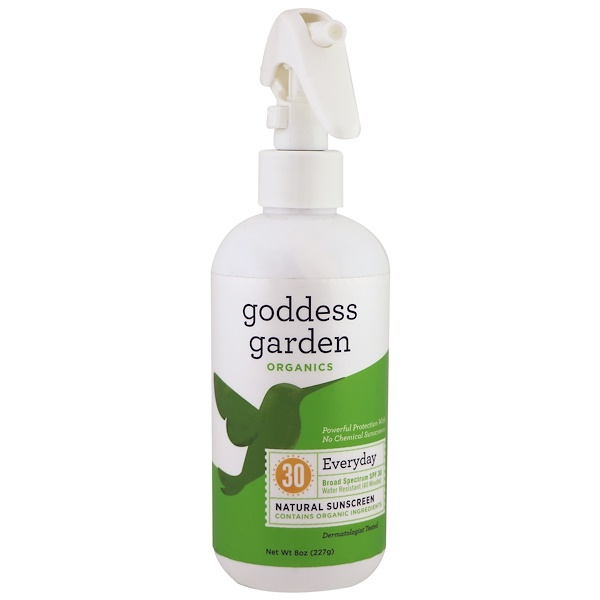 Goddess Garden, Organics, Everyday, Natural Sunscreen, SPF 30, 8 oz (236 ml) (Discontinued Item)