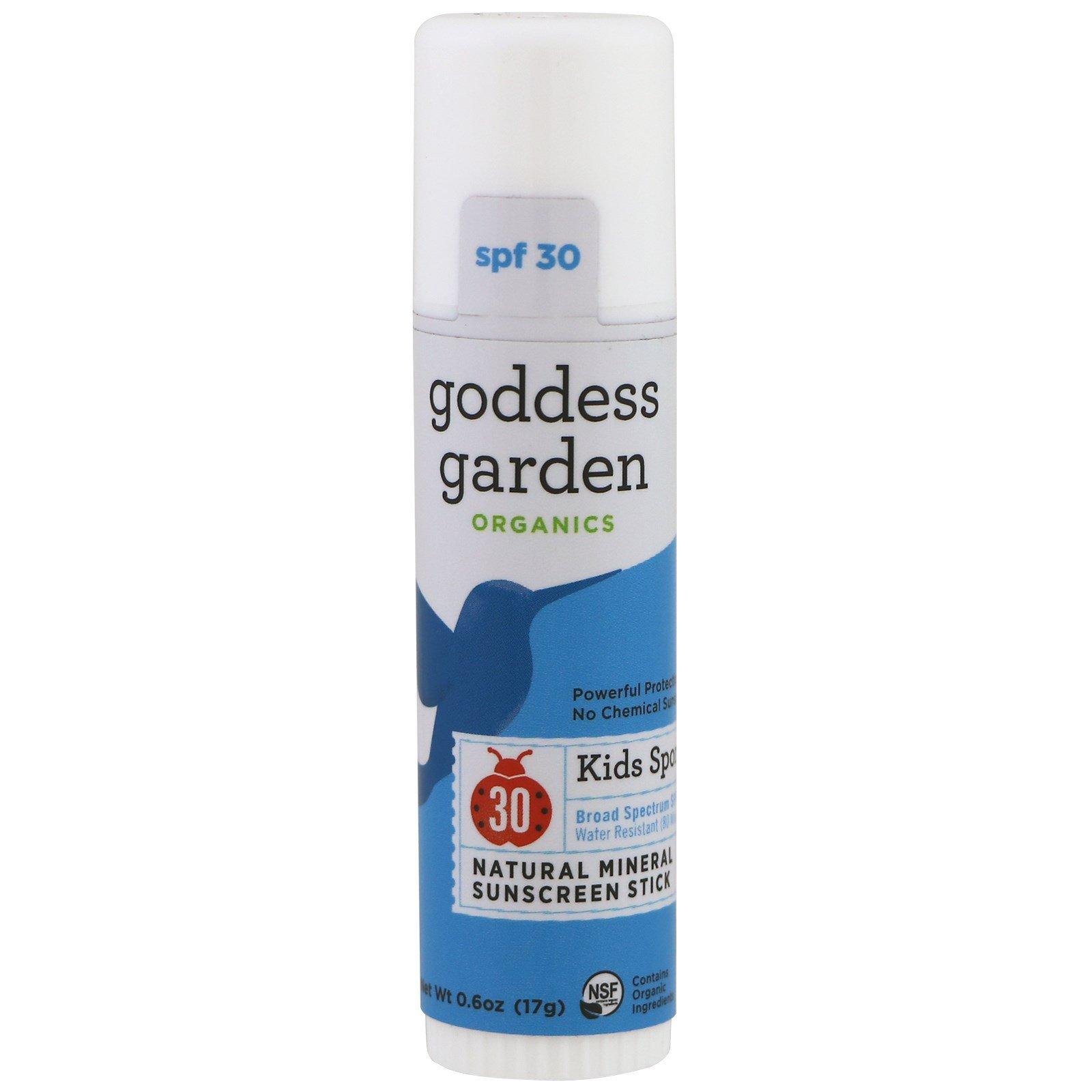 organics natural goddess spray sunscreen continuous spf everyday garden