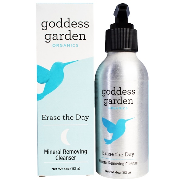Goddess Garden, Organics, Erase the Day, Mineral Removing Cleanser, 4 oz (113 g) (Discontinued Item)
