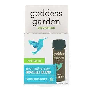 Goddess Garden, Orgánicos, Recógeme, mezcla para brazalete de aromaterapia, 0.125 fl. Oz (3.7 ml)