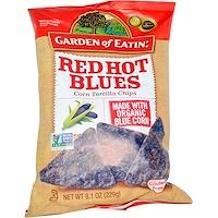 Кукурузные чипсы, Red Hot Blues, 8.1 унции (229 г) - фото