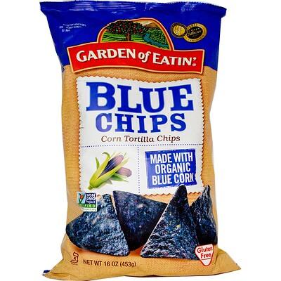 Купить Garden of Eatin' Кукурузные чипсы Tortilla, синие чипсы, 453 г (16 унций)