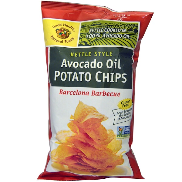 Good Health Natural Foods Avocado Oil Potato Chips