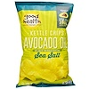 Good Health Natural Foods, Kettle Chips, Avocado Oil, Sea Salt, 5 oz (141.7 g)