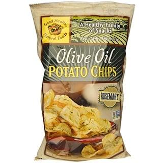 Good Health Natural Foods, رقائق بطاطس زيت الزيتون، روزيماري، 5 أونصات (142 جم)