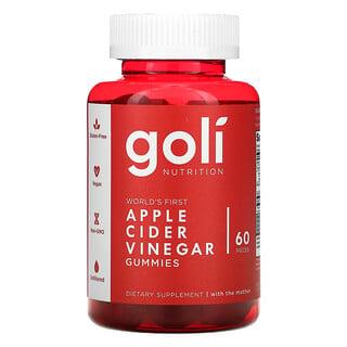 Goli Nutrition, Apple Cider Vinegar Gummies, 60 Gummies