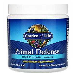 Garden of Life, Primal Defense, Powder, HSO Probiotic Formula, 2.85 oz (81 g)