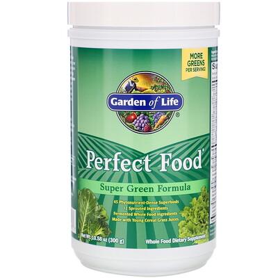 Perfect Food, добавка из суперзелени, 300г (10,58унции)