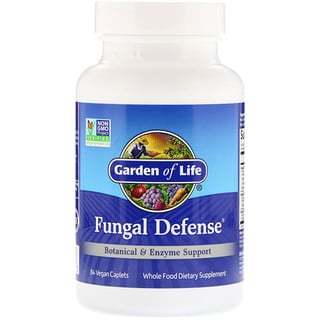 Garden of Life, Fungal Defense, 84 Vegan Caplets
