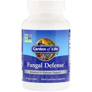 Гарден оф Лайф, Fungal Defense, 84 Vegan Caplets отзывы