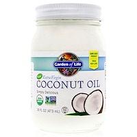 Необработанное кокосовое масло холодного отжима, 16 унций (473 мл) - фото