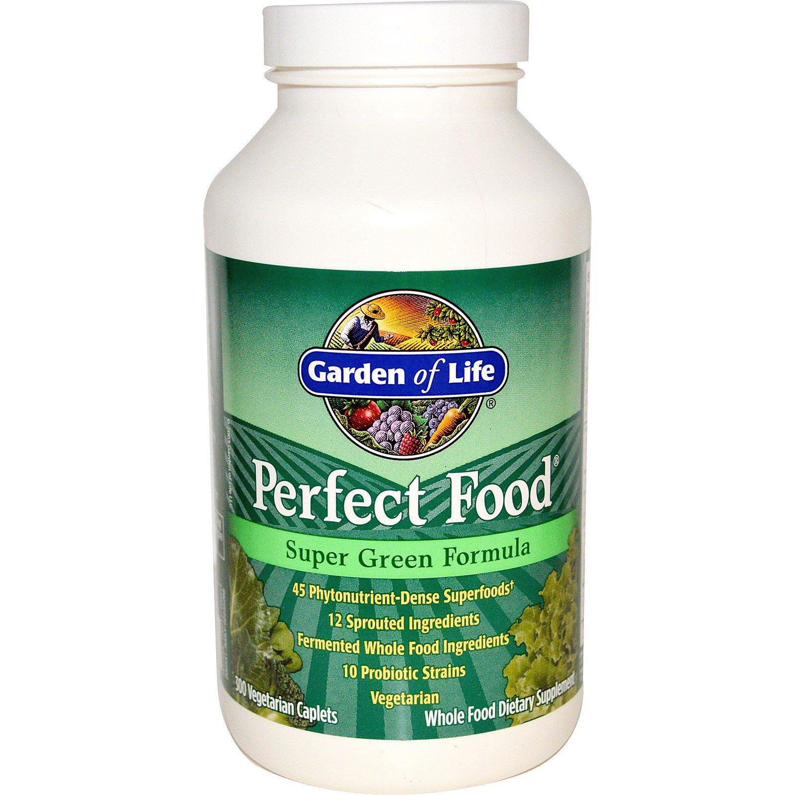 garden of life perfect food super green formula 300 veggie caplets - Garden Of Life Perfect Food