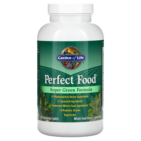 Perfect Food، تركيبة الخضراوات الفائقة، 300 كبسولة نباتية