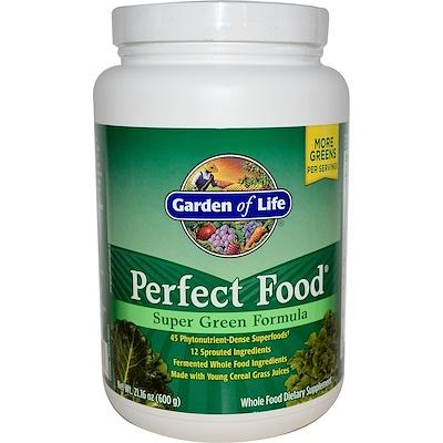 Идеальная пища, супер-зеленая формула, 21.16 унций (600 г)