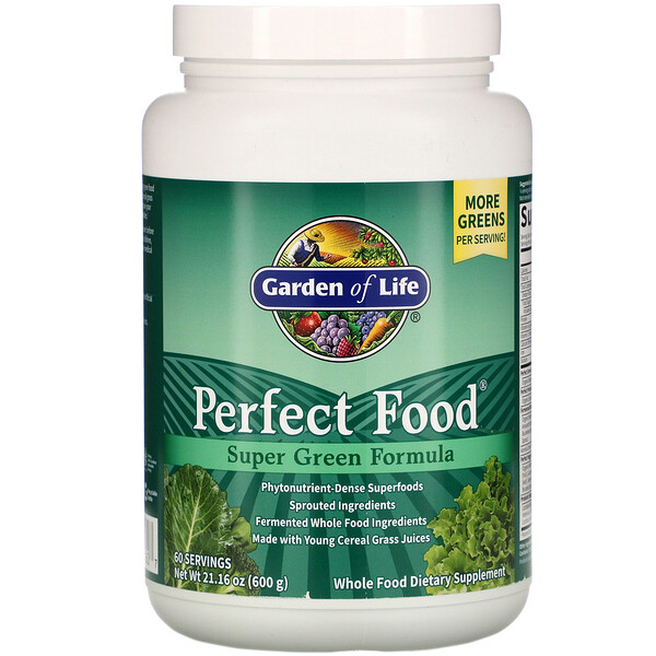 Perfect Food, Super Green Formula, 21.16 oz (600 g)