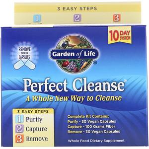 Гарден оф Лайф, Perfect Cleanse, 3 Easy Steps Kit отзывы покупателей