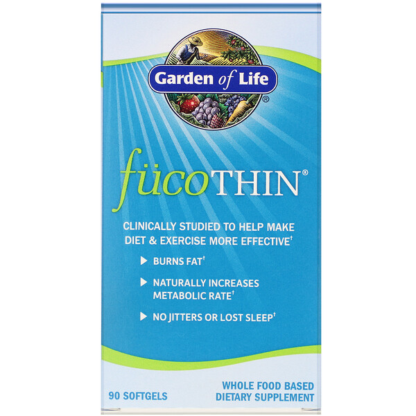 Garden of Life, FucoThin, 90 Softgels