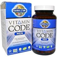 Garden of Life, 비타민 코드, 남성용, 120 베지캡