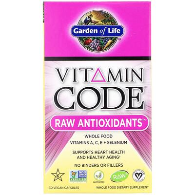 vitamin d3 blister 30 capsules Vitamin Code, RAW Antioxidants, 30 Vegan Capsules