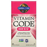 Garden of Life, MyKind Organics، بخاخ فيتامين ب-12 العضوي، توت العليق، 2 أونصة سائلة (58 مل) - iHerb