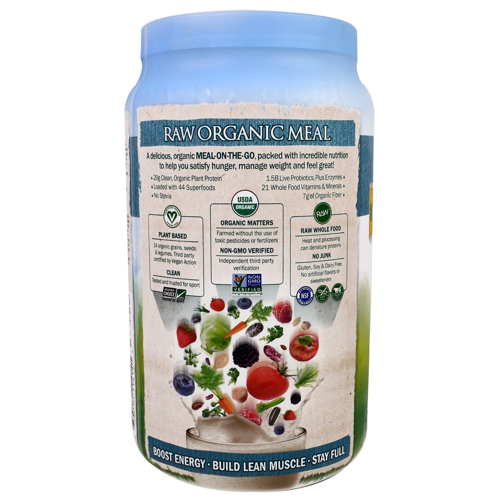 Garden of Life Raw Organic Meal Organic Shake Meal Replacement – Garden Of Life Raw Fit Meal Plan