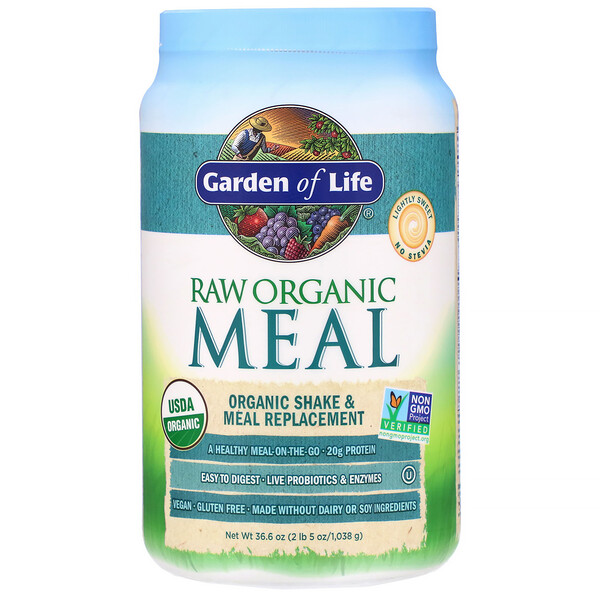 RAW Organic Meal, Shake & Meal Replacement, 36.6 oz (1,038 g)