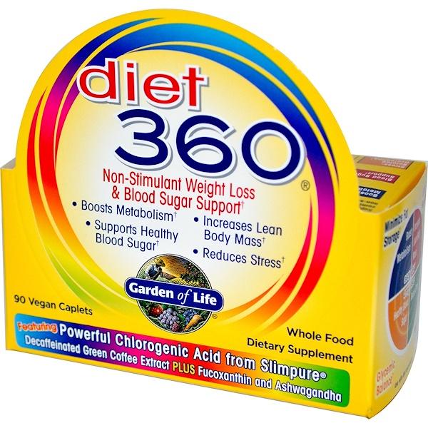 Garden of Life, Diet 360, 90 Caplets (Discontinued Item)