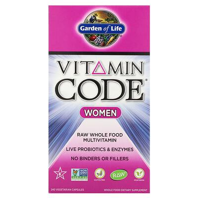 Фото - Vitamin Code, Women, 240 Vegetarian Capsules ip6 gold immune support formula 240 vegetarian capsules