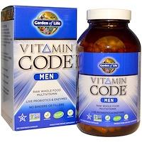 Витаминный код, для мужчин, 240 вегетарианских капсул - фото