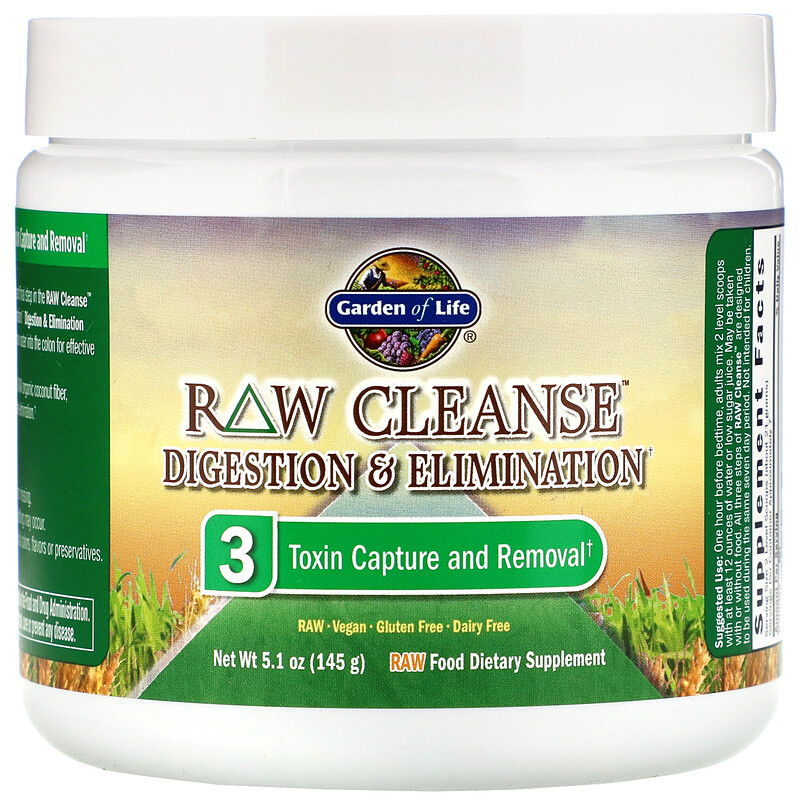 Garden of Life, RAW Cleanse, The Ultimate Standard in Cleansing and Detoxification, 3 Part Program, 3 Step Kit - photo 4