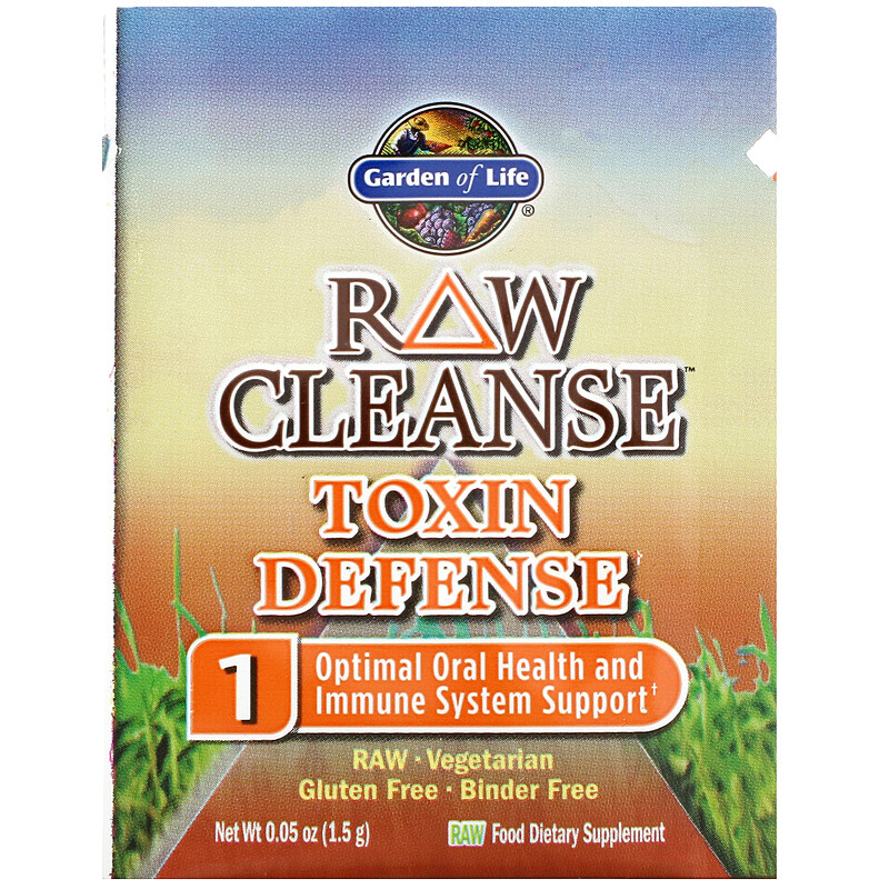 Garden of Life, RAW Cleanse, The Ultimate Standard in Cleansing and Detoxification, 3 Part Program, 3 Step Kit - photo 3