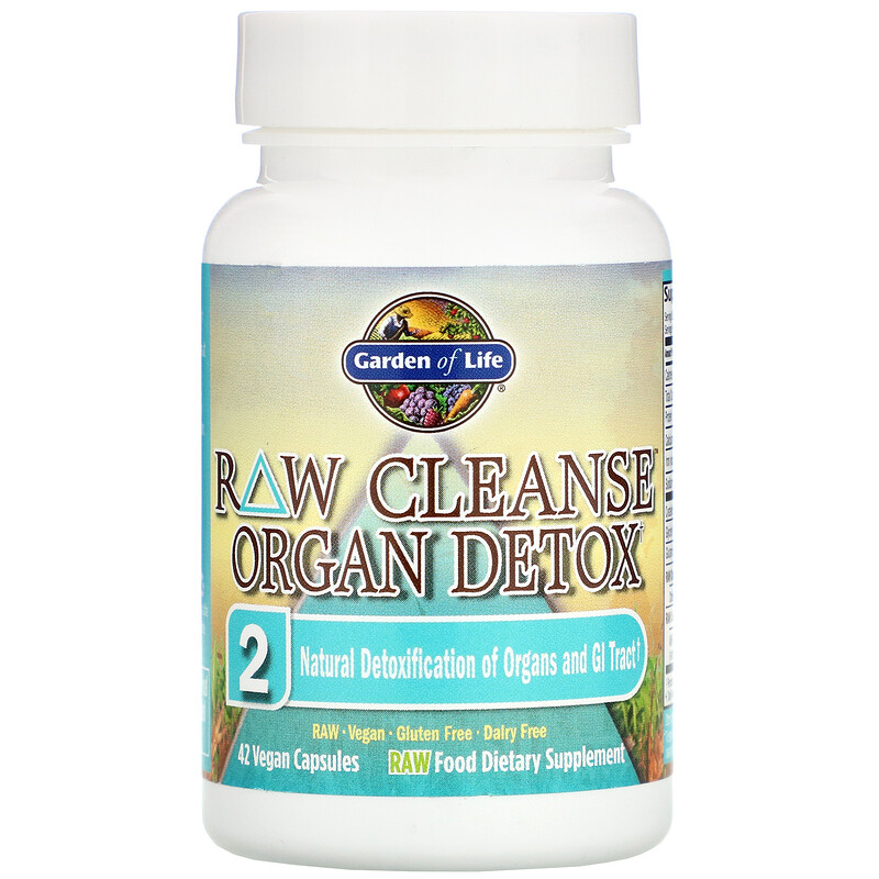 Garden of Life, RAW Cleanse, The Ultimate Standard in Cleansing and Detoxification, 3 Part Program, 3 Step Kit - photo 2