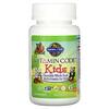 Garden of Life, Vitamin Code(ビタミンコード)、キッズ、自然食品マルチビタミンチュアブル、チェリーベリー味、クマ型チュアブル30粒