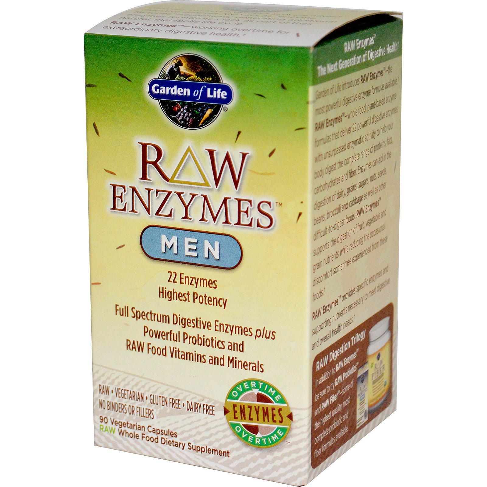 garden of eden probiotics. Garden Of Life, RAW Enzymes, Men, 90 Veggie Caps Eden Probiotics