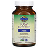Garden of Life, RAW Enzymes, Men, 90 Vegetarian Capsules