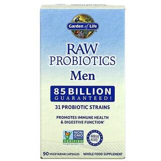 Garden of Life, RAW Probiotics, Men, 85 Billion Live Cultures, 90 Vegetarian Capsules