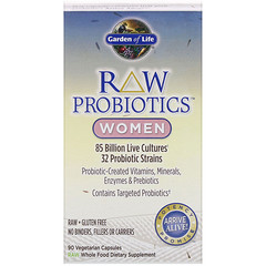 Garden of Life, RAW Probiotics, Women, 90 Vegetarian Capsules